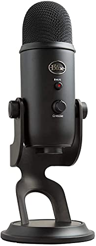 Blue Microphones Yeti Professionelles USB-Mikrofon für Aufnahmen, Streaming, Podcasting,...