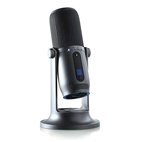 ROM USB-Kondensatormikrofon für professionelles Streaming und Aufnahme -...