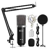 TONOR XLR zu 3,5 mm Kondensator Mikrofon Kit Schall Podcast Studio Rundfunk & Aufnahme Microphone...