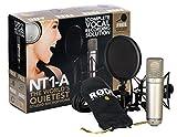 Rode NT-1A  Großmembran-Kondensatormikrofon mit goldbedampfter und elastisch gelagerter 2,5 cm (1...