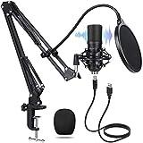 USB Mikrofon, MANLI USB Mikrofon Kondensator Microphone 192KHz/24Bit studio mikrofon Standmikrofon...