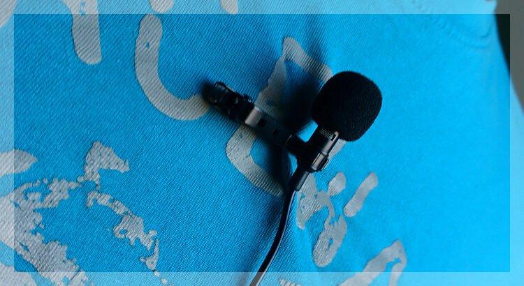 Ansteckmikrofon Lavaliermikrofon