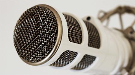 Mikrofon Test Podcast