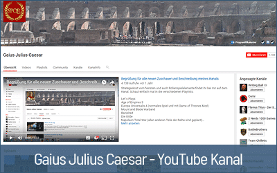 Tipps für die optimale Ton-Aufnahme von 11 erfolgreichen YouTubern - Gaius Julius Caesar