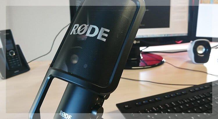 Double-Ender Aufnahme für eine optimale Ton-Qualität bei mehreren Personen