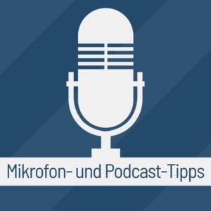Mikrofon- und Podcast-Tipps - Podcast Logo