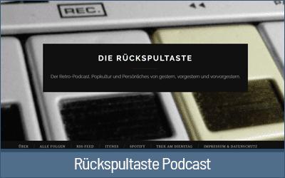 Rückspultaste - Bekannte Podcaster und welche Mikrofone sie nutzen