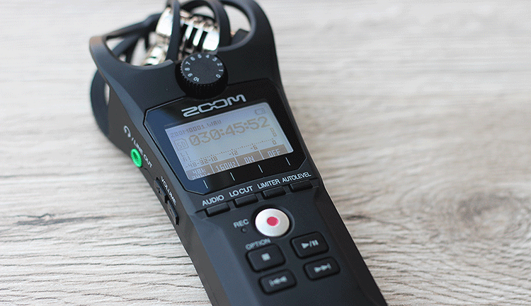 Zoom H1n Audiorecorder