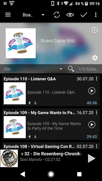 Podcast Episodennummer am Anfang des Titels