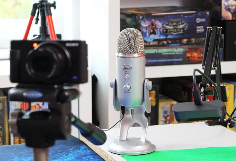 Wie weit weg vom Mikrofon? Blue Yeti