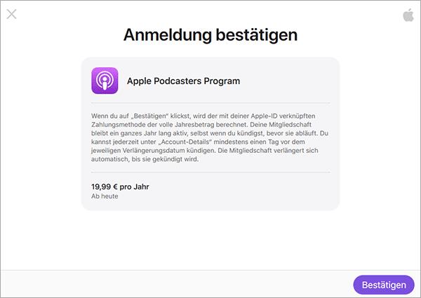Apple Podcasters Program - Apple Podcasts Abonnements - Endlich Geld verdienen mit Apple?!